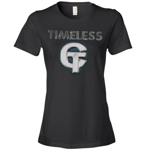 Conway Twitty Ladies Black Timeless Tee