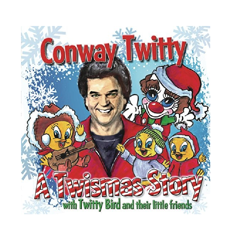 Conway Twitty CD- Twismas Story- Updated Version