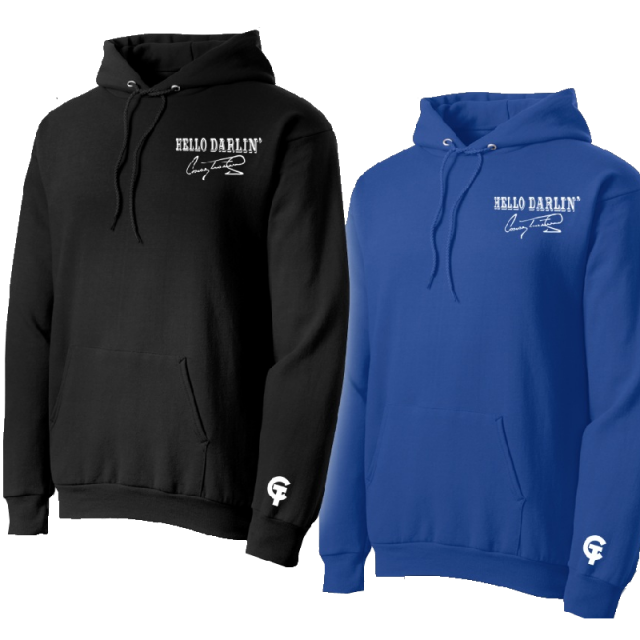 Conway Twitty Hello Darlin' Pullover Hoodie