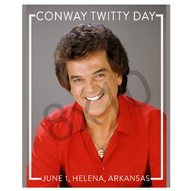 Conway Twitty Day 8 X 10